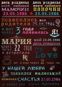 Поздравление со значимыми датами и событиями